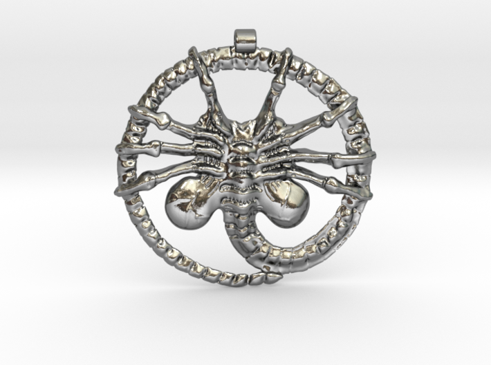 Facehugger - Amulet - Alien 3d printed