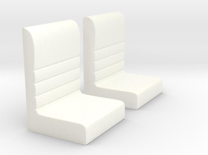 Futurliner Seats 3d printed