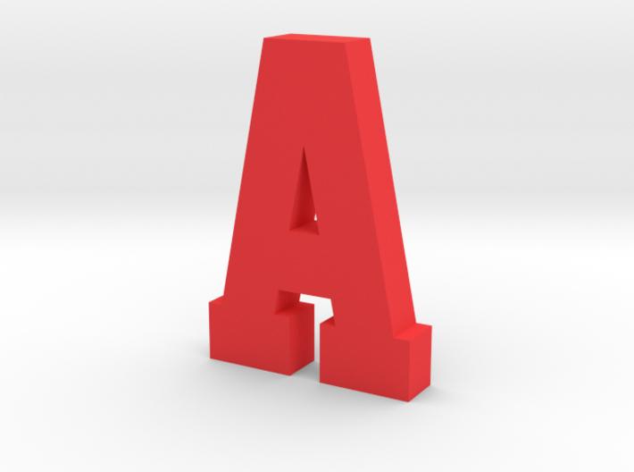 Large Decorative Letter A 3d printed