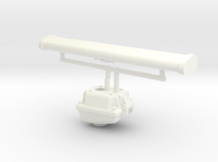 navigation radar-NH1816-and Arie Visser class-1:20 3d printed