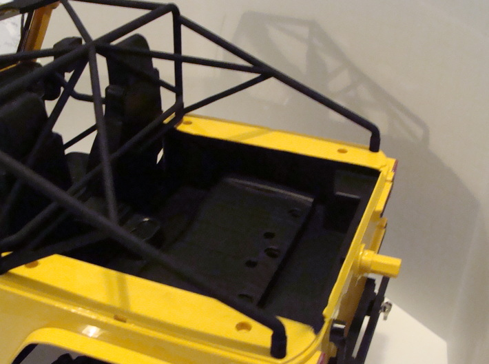 JK Roll Cage 3d printed