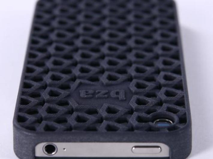 Freedom Iphone Case 3d printed shows case after 3 months of daily use, the black fades a little and gets a nice patina