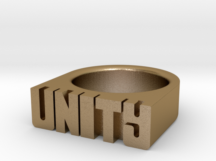 17.9mm Replica Rick James 'Unity' Ring 3d printed