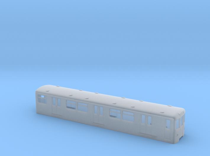 Berlin Baureihe D H0 [body] 3d printed