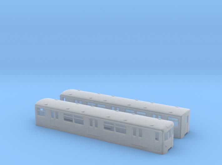 Berlin Baureihe D  H0 [2x body] 3d printed