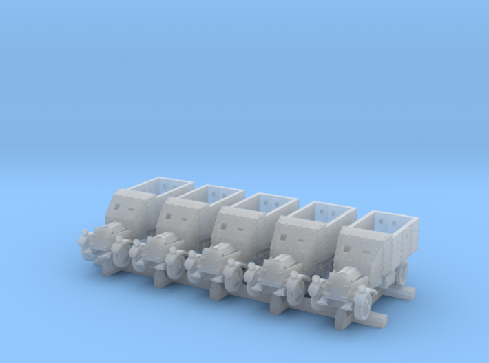 Lancia Armoured Truck 1921 (6mm,5-up) 3d printed