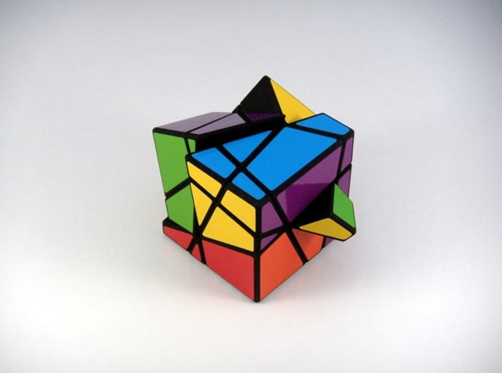 Madness Cubed Puzzle 3d printed Three Turns