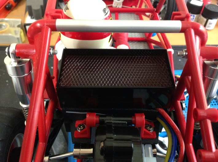 FA20003 Sand Rail Chassis Rear 3d printed Electronics are hidden in rear battery box (sold separately)