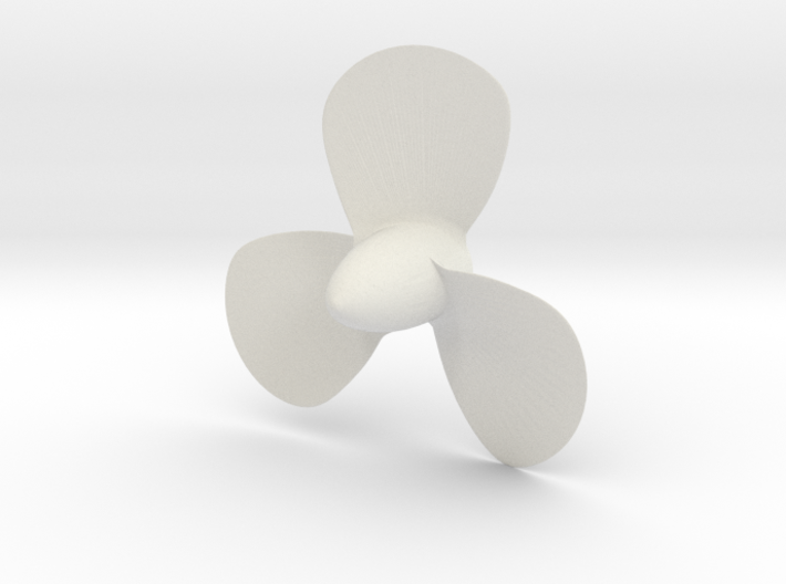 Titanic 3 Bladed Centre Propeller - Scale 1:87 3d printed