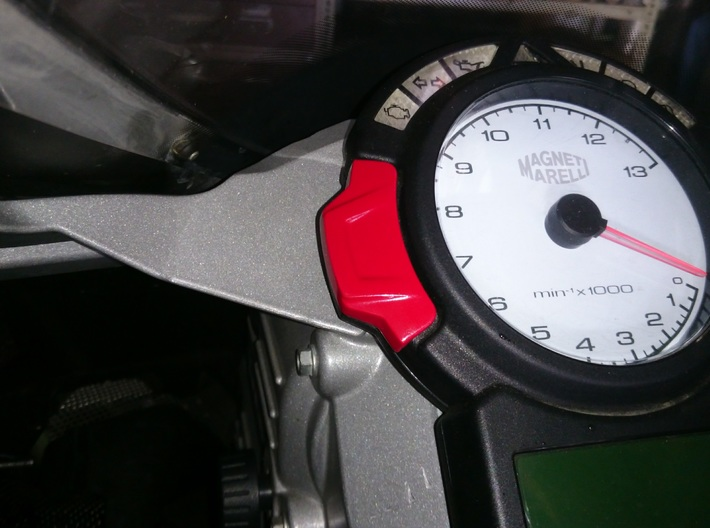 Ducati 749 / 999 Tacho Button 3d printed Painted and installed