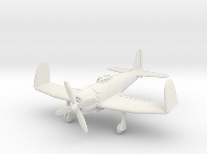 Mitsubishi A7M2 Reppu (With folded wings) 1/100 3d printed