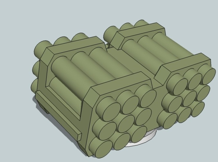 "6mm ""Kalliope"" SLAM Turrets (12pcs) 3d printed"