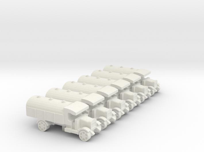WWI Truck Tanker x6 3d printed