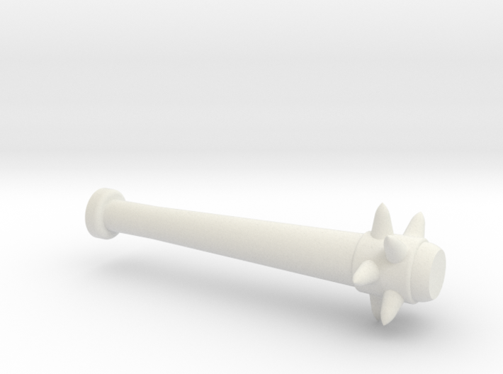 Spiked Baseball Bat for Minifigures 3d printed