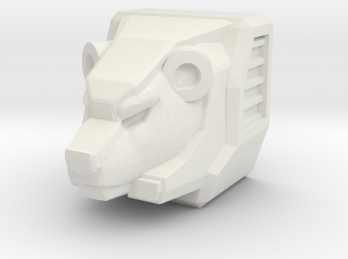 Bear Head for Shuffler/Ramhorn 3d printed