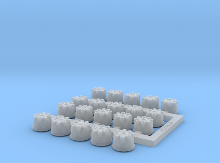 Set of 20 distributors for 1/20th scale Cosworth D 3d printed