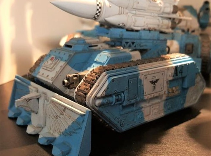 Devotional Eagle Bulldozer Blade Kit 3d printed