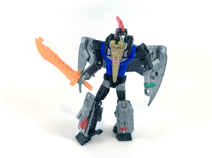 'Magmus Blade' Sword for POTP Dinobots 3d printed