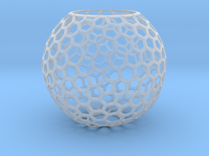 Lampshade_6h_40 mm_thick 3d printed