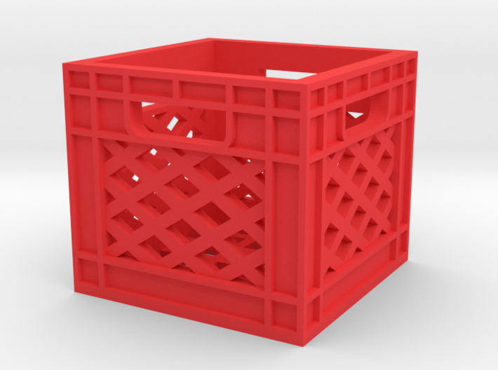 Milk Crate 1/16 3d printed