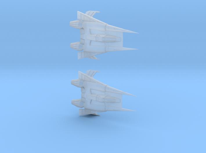 Thunder Fighter 1/270 3d printed