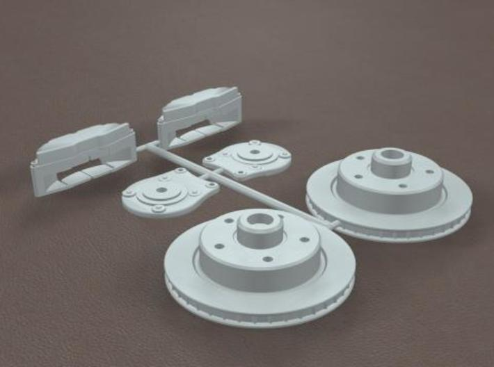 1/16 Generic Rear Disk Brake Kit 3d printed