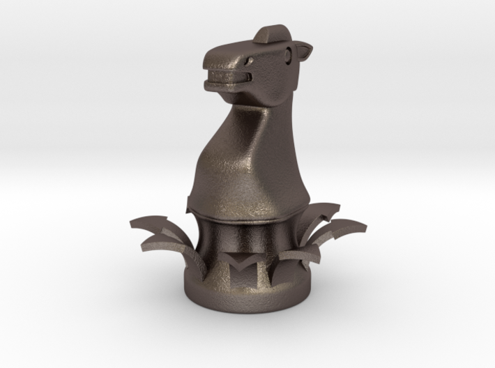 Instructional Chess Set - Knight 3d printed