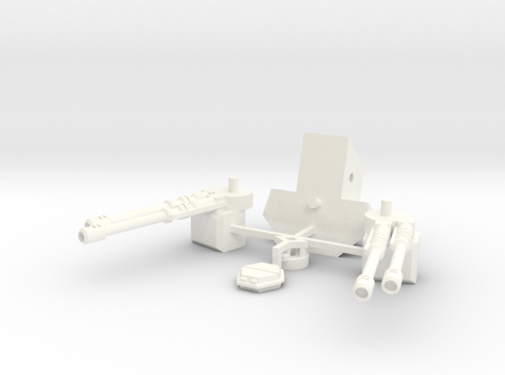 Chimerax Turret 3d printed
