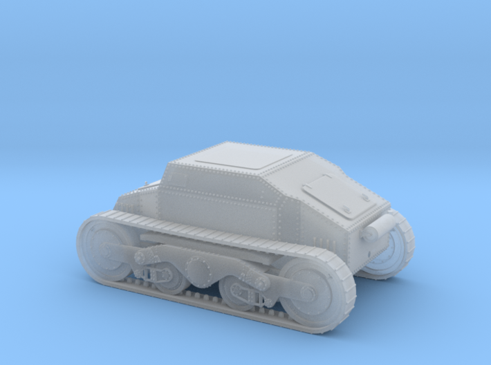 1/56th (28 mm) Straussler V-3 prototype 3d printed