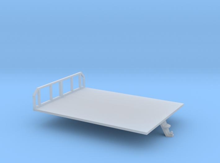 N scale 1/160 Morooka platform bed 3d printed