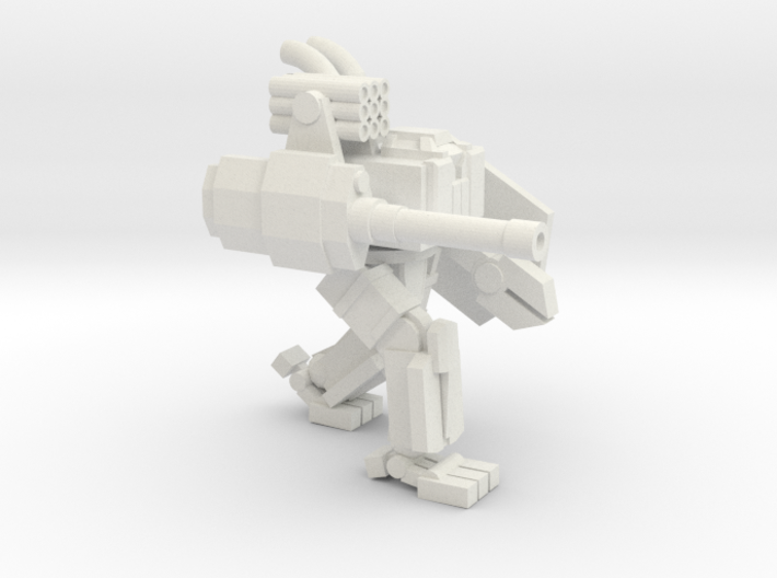 ICE Mech Two Legged Brawler 3d printed