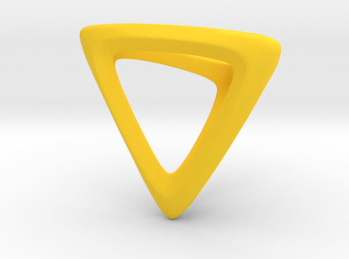 Tetrahedron Platonic Solid 3d printed