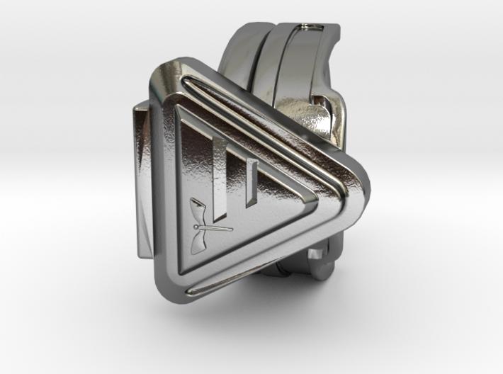 Doctor Evil Ring v2 size 9 18.89mm 3d printed