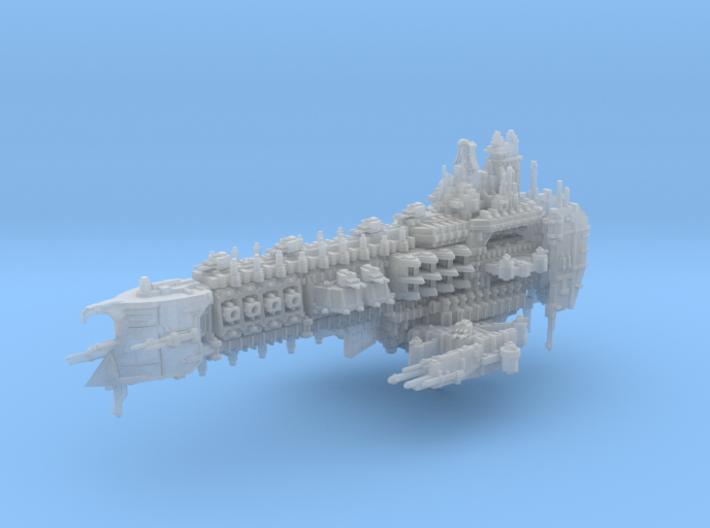 Oberlin Battleship 3d printed