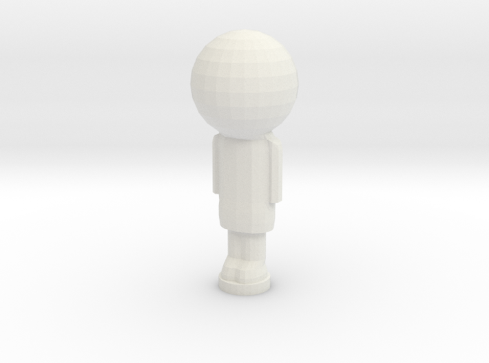Peg Doll 3d printed