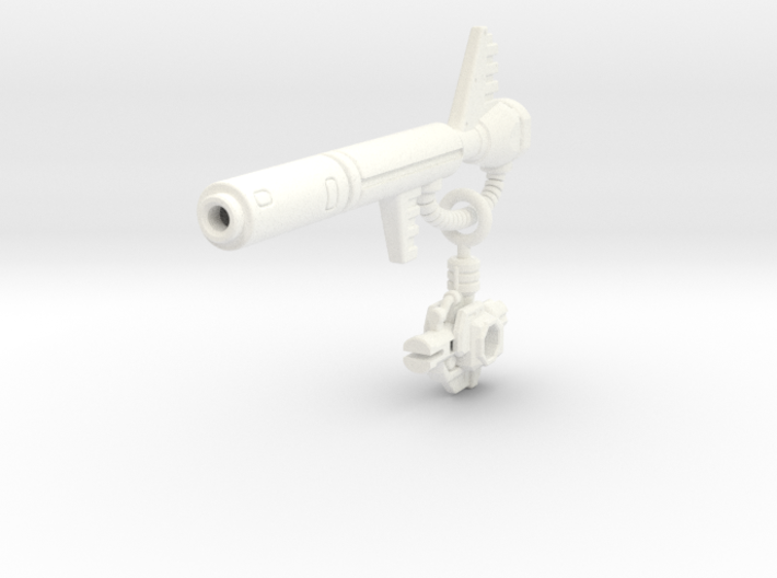 POTP Snarl G1 Styled Blaster 3d printed