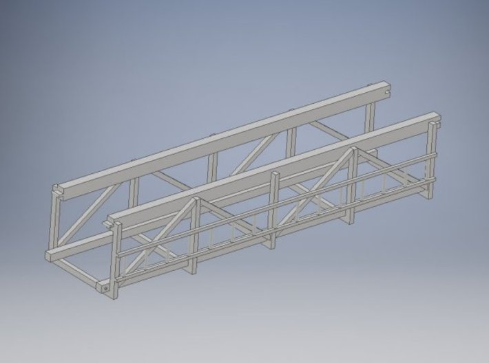1-87 - 20 FT section Swinging box lead 3d printed