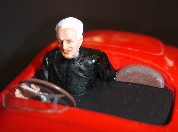 1/32 Ferrari 166 MM Barchetta Slot Car Detail Kit 3d printed