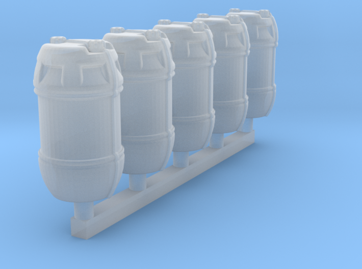 1/72 Shark Hunter Barrel 3d printed