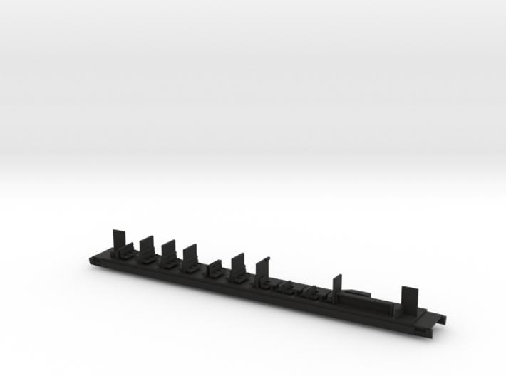 Inneneinrichtung Buffetwagen Transalpin Scale N 3d printed