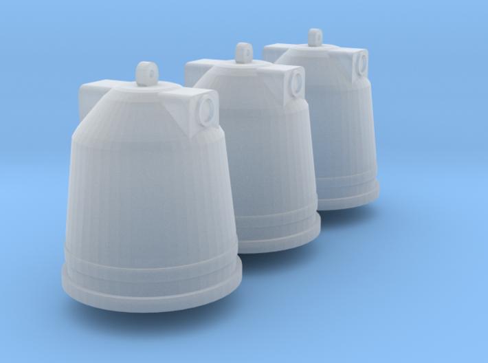 3 Altglascontainer (N 1:160) 3d printed