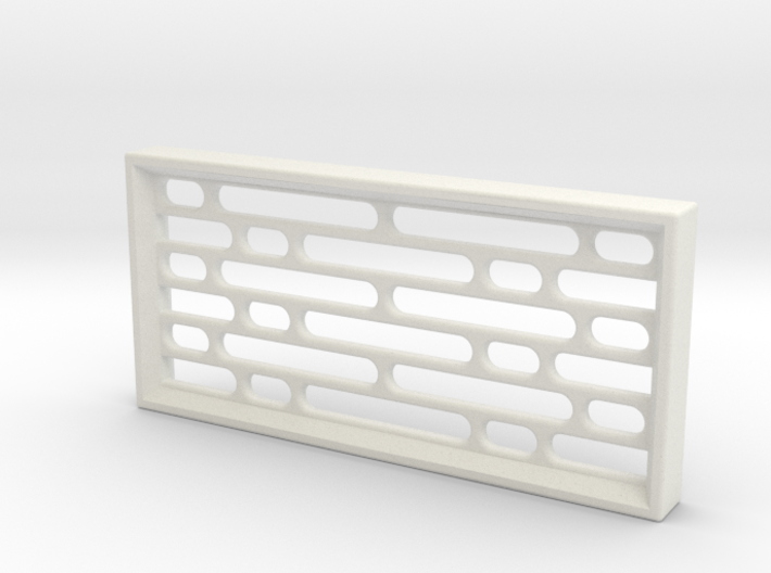 Geometric Pattern Wall Panel - Star Wars Style 3d printed