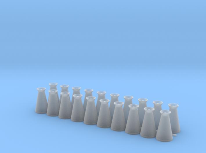 17 Gallon (65 L) Conical Milk Churn Variant 2 3d printed