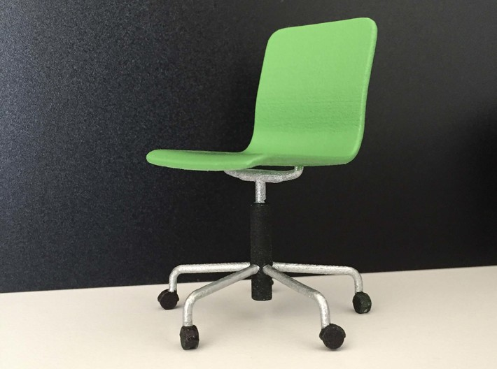 Office Chair 1:12 3d printed