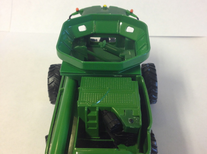 1: 64 S Scale SX60/70 Series Manual Fold Bin Exten 3d printed Extension shown on model