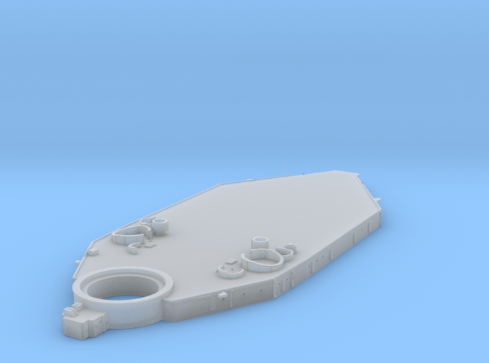 1/600 USN BB59 Superstructure Level 1 3d printed