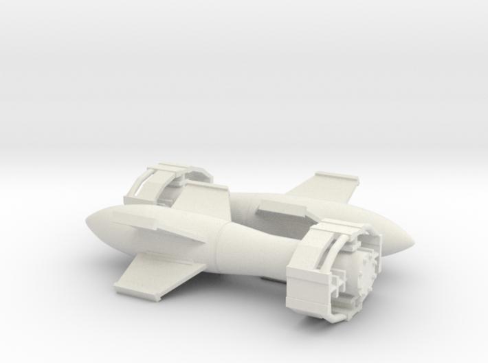 Fritz X glide bomb 3d printed