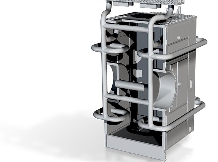 1/87 SMEAL Rescue Pumper body w/ ladder rack 3d printed