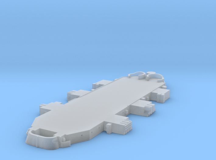 1/700 USN BB59 Superstructure Level 2 3d printed