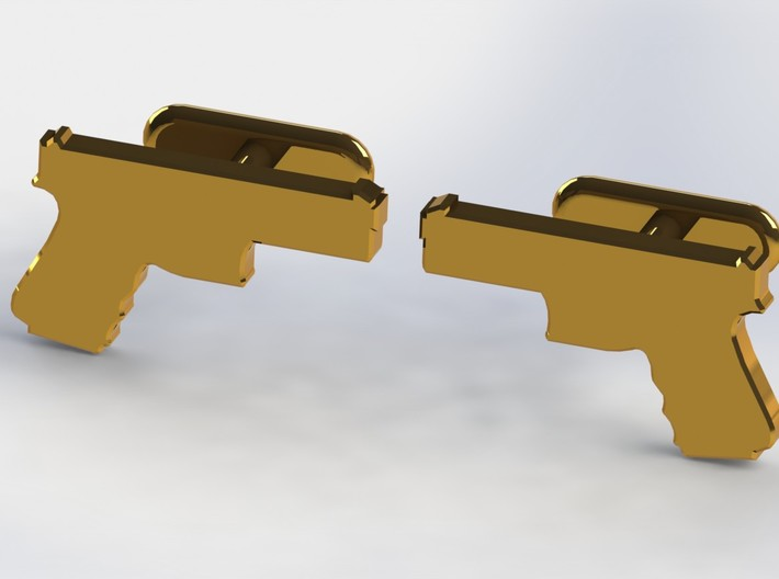 9MM CUFFLINKS 3d printed